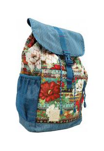 Mochila Farm Bucket Bag Floral