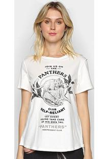 Camiseta Forum Pantera Feminina - Feminino