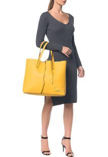 Bolsa Ck Reversible Shopper - Amarela - U