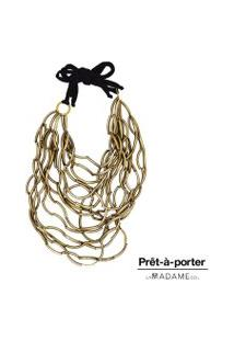 Colar La Madame Co Maxi Colar Bronze