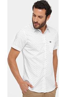 Camisa Broken Rules Mini Print Masculina - Masculino