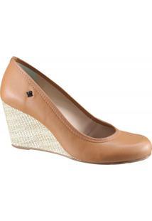 Sapato Feminino Anabela Cravo E Canela