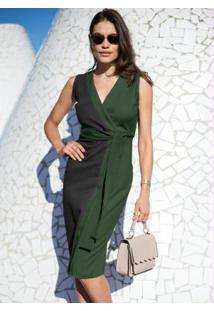 97323471c Vestido Bonprix Transpassado feminino | Shoelover