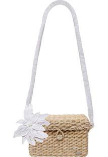 Bolsa Pequena Branco Off White - Lez A Lez