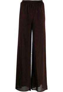 M Missoni Stretch Fit Trousers - Marrom