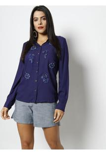 cdfa88d856 Camisa Perola Preta feminina