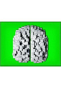 Jogo Americano Decorativo, Criativo E Descolado | Cérebro De Pastilhas - Tamanho 30 X 40 Cm