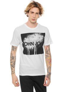 Camiseta John John Spray Off-White