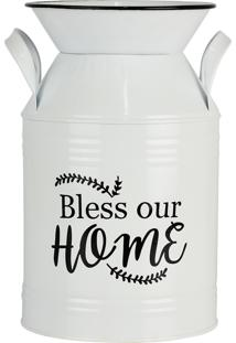 Vaso Estilo Leiteira Kasa Ideia De Metal Bless Our Home