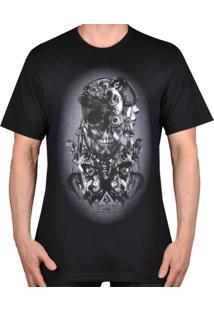 Camiseta Mcd Machine Sepultura - Masculino