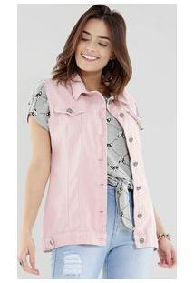 Colete Feminino Jeans Razon