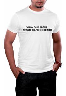 Camiseta Hunter Segue O Jogo Branca