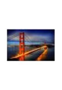 Painel Adesivo De Parede - Golden Gate Bridge - 364Pn-P