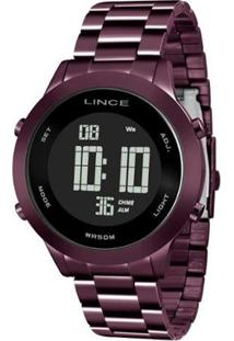 Relógio Lince Sdph083L Pxux Feminino - Feminino-Roxo