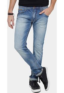 Calça Jeans Skinny Colcci Felipe Indigo Masculina - Masculino