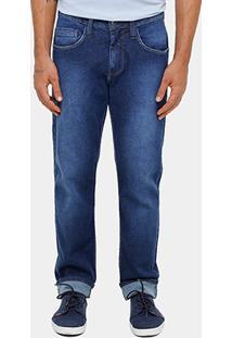 Calça Jeans Colcci Elastano Puídos Masculina - Masculino