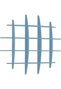 Prateleira Decorativa Grande Taylor 595 Azul Serenata - Maxima