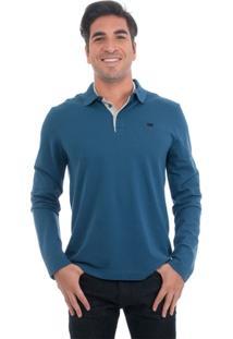 Camisa Polo Manga Longa Vr - Masculino