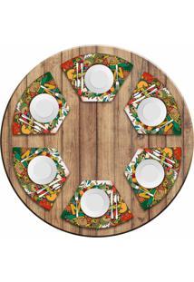 Jogo Americano Love Decor Para Mesa Redonda Wevans Mexico Kit Com 6 Pã§S - Multicolorido - Dafiti
