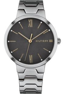 ae3614bf955 Relógio Digital Cinza Tommy Hilfiger feminino