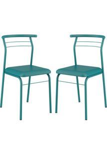 Cadeira 1708 Color 02 Unidades Turquesa Carraro