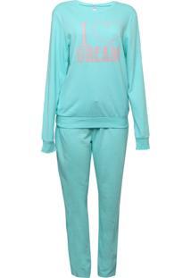 Pijama Malwee Liberta I Love Dream Azul
