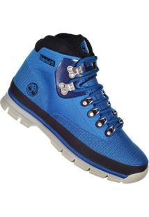 Bota Timberland Euro Hiker - Masculino-Azul+Preto