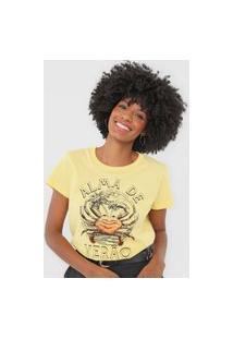 Camiseta Colcci Alma De Verão Amarelo