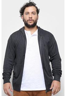 Jaqueta Tricô Delkor Plus Size Masculina - Masculino