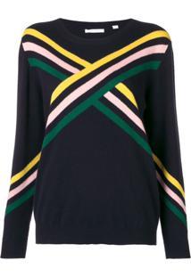 Chinti & Parker Suéter Color Block - Azul