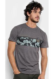 Camiseta Quiksilver Esp Mwrm Yardage Imp Masculina - Masculino