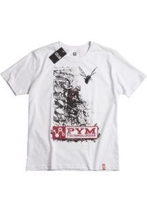 Camiseta Marvel Homem Formiga - Unissex-Branco