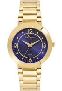 Relógio Condor Feminino Bracelete - Co2035Kvq/K4A Co2035Kvq/K4A - Feminino-Dourado