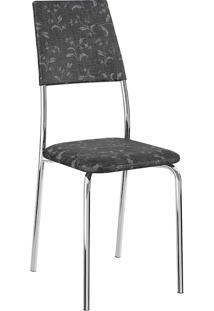 Cadeira 1719 - Carraro - Fantasia Preto