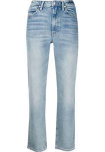 Alexander Wang Calça Jeans Cult Flex - Azul