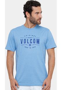 Camiseta Volcom Silk Garage Club Masculina - Masculino