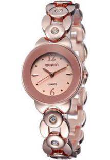 Relógio Weiqin Analógico W4763 - Rosa