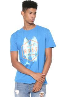 Camiseta Reef Fusion Azul