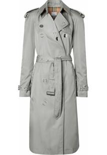 Burberry Trench Coat Econyl® - Cinza