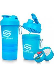 Coqueteleira Smartshake Neon Azul