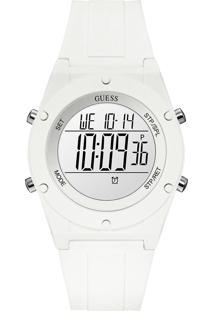 Relógio Guess Feminino Borracha Branca - W1282L1