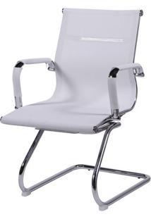 Cadeira Office Eames Em Tela- Branca- 89X54,5X46,5Cmor Design