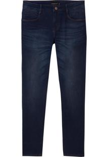 Calça Dudalina Jeans Stretch 5 Pockets Masculina (Jeans Escuro, 56)