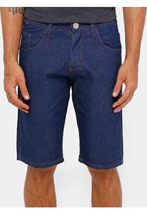 Bermuda Jeans Rockblue Tradicional Reta Masculina - Masculino