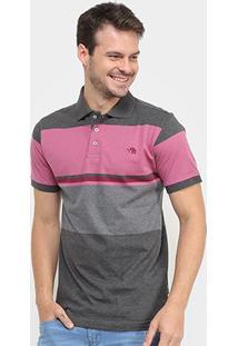 Camisa Polo Gajang Listrada Masculina - Masculino-Vinho