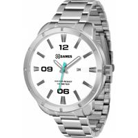 Relógio Xgames Xmss1032 B2Sx - Masculino-Prata+Branco 45d748ad92