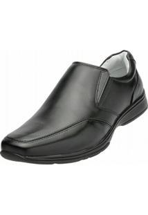Sapato Social Alcalay Liso - Masculino-Preto