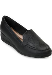 Sapato Anabela Piccadilly Pd20-11706 - Feminino