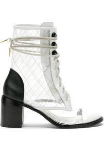 Andrea Bogosian Ankle Boot Sapporo - Branco