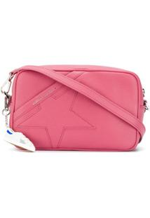Golden Goose Star Leather Shoulder Bag - Rosa